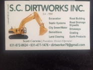 sc dirtworks inc